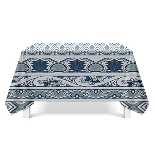 XGguo Manteles de Mesa para Fiesta Antimanchas Resistente a Líquidos de Estilo Moderno para Mesa Arte Abstracto Textura