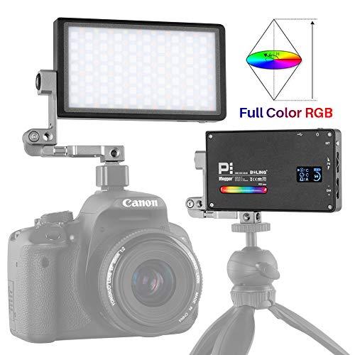 BOLING BL-P1 Luz de Video de Bolsillo RGB 2500-8500K para cámaras DSLR Filmación de Videos
