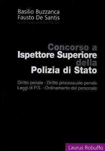 Concorso a ispettore superiore della polizia di Stato
