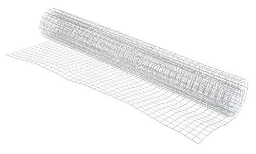 Drahtgitter Volierendraht verzinkt 13x13cm-Maschen Aluminium 100x40cm Maschendraht