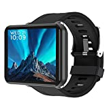 Reloj Inteligente 4G WiFi Pantalla de 2,86 Pulgadas Cámara GPS Android 7.1 Reloj Inteligente 3G RAM 32G ROM Pulsera Deportiva Inteligente 2700Mah Hombres Mujeres Niños Smartwatch