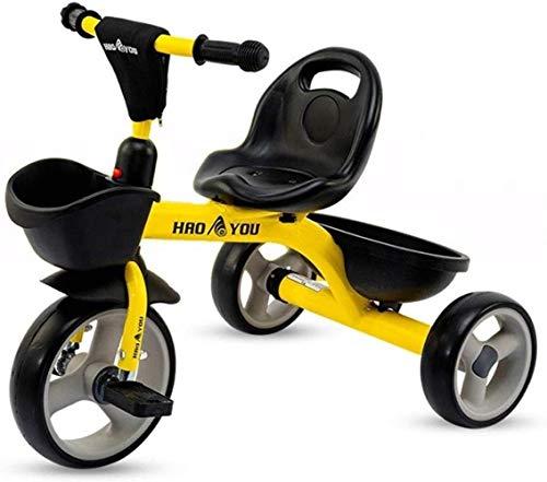 Archivador plano Triciclos Triciclo Cochecito triciclos con Marco de Acero Retro de los niños al Aire Libre Bici del bebé Cubierta Triciclo niños 1-3-6 años