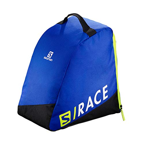 Salomon, Skischuh-Rucksack ORIGINAL BOOTBAG, Blau (Race Blue)/Neongelb (Neon Yellow SCFL), LC1171400