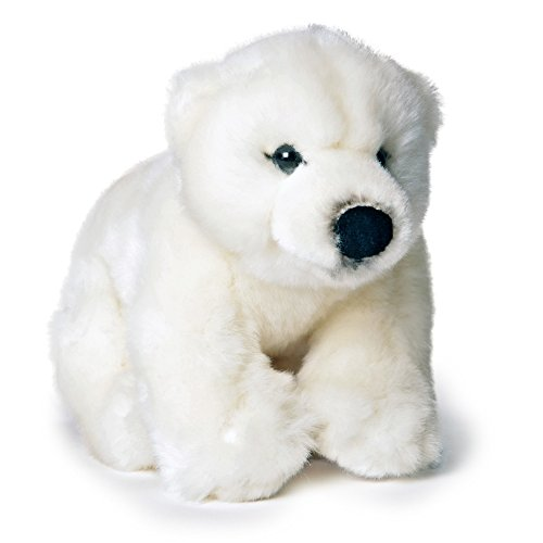 Pamer-Toys Animali di peluche, peluche – orso polare, bianco