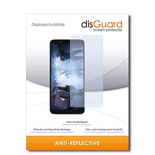 disGuard® Bildschirmschutzfolie [Anti-Reflex] kompatibel mit Xiaomi Black Shark 2 [2 Stück] Entspiegelnd, Matt, Antireflektierend, Extrem Kratzfest, Anti-Fingerabdruck - Panzerglas Folie, Schutzfolie