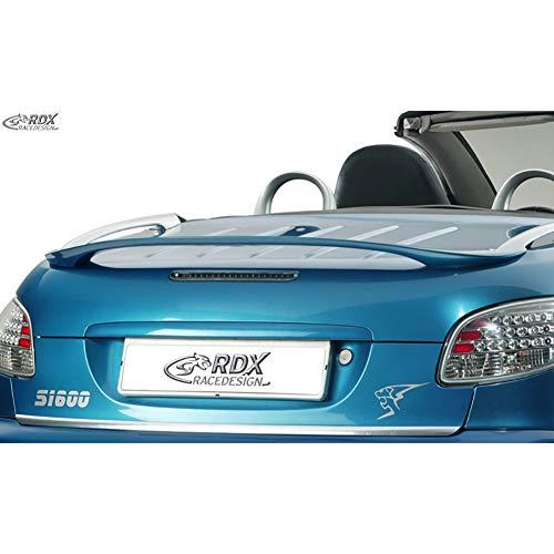 RDX Racedesign RDDS047B Spoiler arrière 206 CC (PUR-IHS)