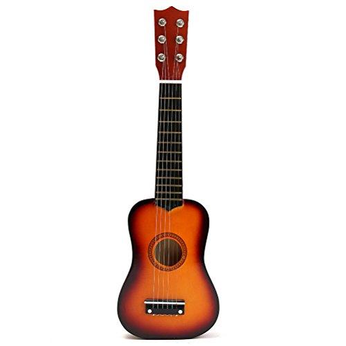TOYMYTOY 21 pulgadas Guitarra acustica Pequeña guitarra de madera para niños infantil...