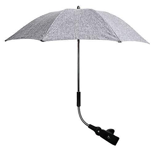 Promise2134 Universele baby zon Parasol Parasol schaduw luifel kan worden gebogen vrij baby paraplu uv bescherming parasol armatuur voor kinderwagen kinderwagen