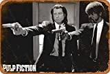 Cimily Pulp Fiction Duo Guns John Travolta Samuel Jackson