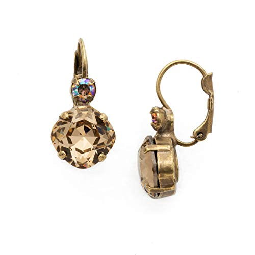 Sorrelli Classic Complements Earrings, Antique Gold-Tone Finish, Neutral Territory