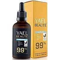 ● GANADOR 2020* ● Sérum facial con Vitamina C y ácido hialurónico puro ● para cuello y escote ● efecto antiarrugas y antiedad ● para cuello y escote ● 99% natural ● vegano ● 50ml