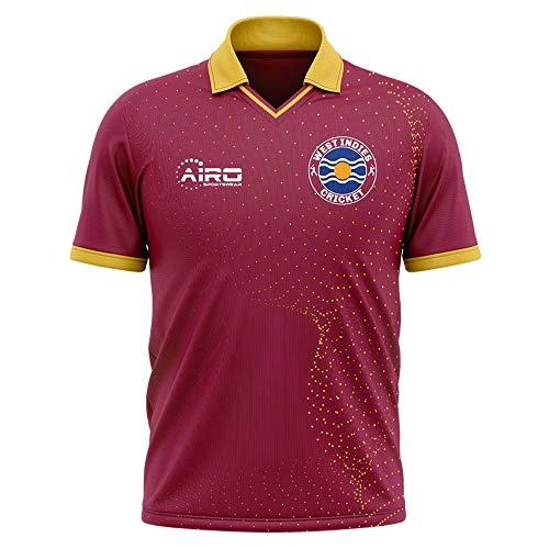 Airosportswear 2020-2021 West Indies Cricket Concept Football Soccer T-Shirt Trikot