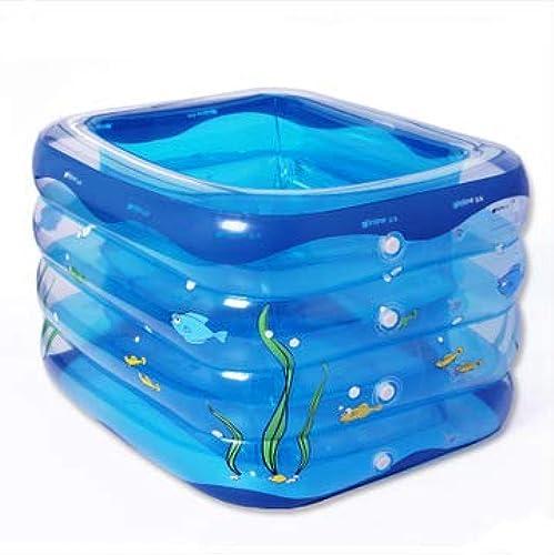 Baby Pool, überGröße Familie Baby Pool, Aufblasbares Pool Aufblasbares Faltbad, Kindergeschenk - 120  106  75cm