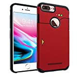 iPhone 6S 7 8 Plus CASEMPIRE Pokedex Dual Layer Hybrid Case Shock Proof Never Fade Slim Fit Cover for iPhone 6S 7 8 Plus- Pokedex Hybrid