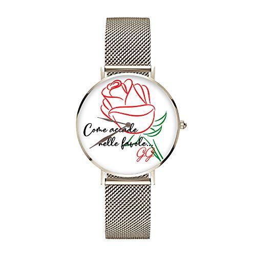 Reloj de Pulsera Personalizado Idea Regalo San Valentín You and Me como Sucede en Las Cuentos