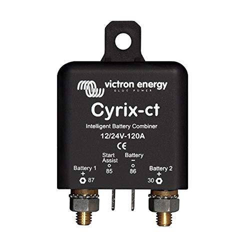 Victron Energy CYR010120011 Batteriekoppler, Cyrix-ct 12V/24V 120A, Einheitsgröße