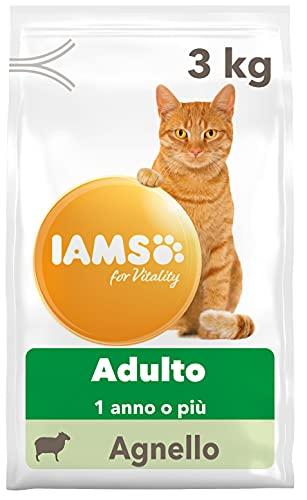 IAMS for Vitality Cibo Secco per Gatti Adulti con Agnello, 3 kg