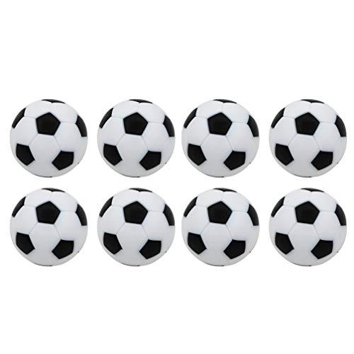 NUOBESTY 8 Piezas de 32Mm de Mesa de Fútbol de Balón de Fútbol de Repuesto Mini Y de Mesa de Fútbol de Bolas de Repuesto