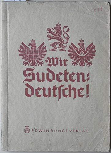 Wir Sudetendeutsche!