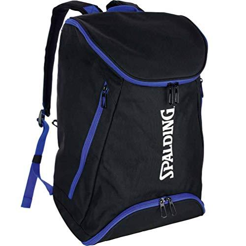 Spalding Rucksack schwarz/blau mit extra Bodenfach & Trinkflasche
