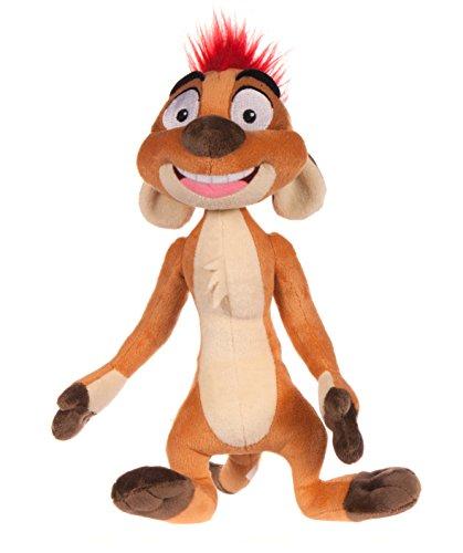 Posh Paws King Disney Lion Guard Timon-Guardameta de Peluche (25,4 cm), Color marrón, 25,40 cm(10 Pulgadas) (71278)