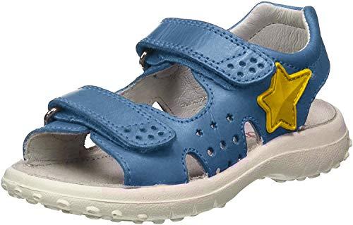 Naturino Dock-Sandale mit Stern-Patch-Azurblau azurblau 30