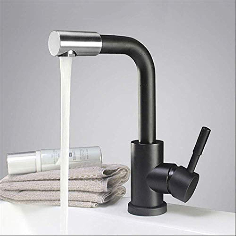 WDXDP Wasserhahn 3 Whlen Sie 304 Edelstahl Gebürstet Waschtischmischer Drehbare Waschbecken Wasserhahn Toilette Wasserhahn