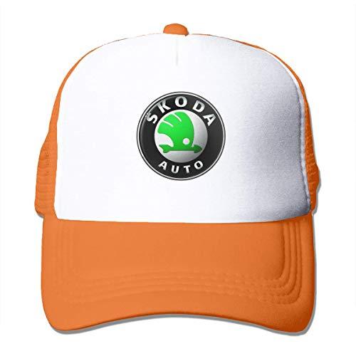 New Customized Skoda Logo Cool Cricket Cap for Girls Trucker Hats Black Sombreros y Gorras