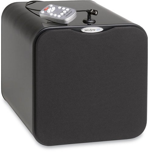 Velodyne SPL-1000R Powered subwoofer with remote control Black