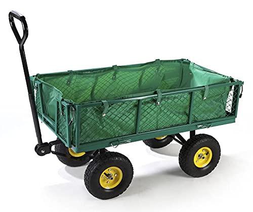 Universal Gartentransportwagen 130 kg belastbar vielseitig einsetzbar