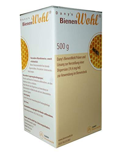 APIFORMES Danys Bienenwohl - 500 g - Oxalsäure Dihydrat für Bienen Behandlung gegen Varroa Varroabehandlung Bienen Imkerei Imkereibedarf