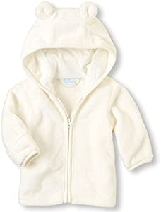 Chaquetas Ropa Bebé, LANSKIRT Recién Nacido Bebé Niño Niña Abrigo con Cremallera Paño Grueso y Suave Coralino Chaqueta con Capucha Calientes Outwear