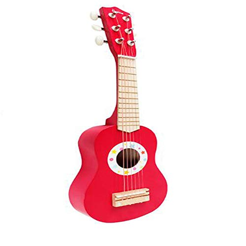 NBZLY Children's Guitar, Fine Grinding, Light Weight, Cute Appearance, 6-String Toy Acoustic Guitar, Suitable for Children Beginners, Best Musical Instrument Gift