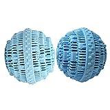 BERON Set of 2 Eco-Friendly Wash Ball Super Laundry Balls for 1500 Washings