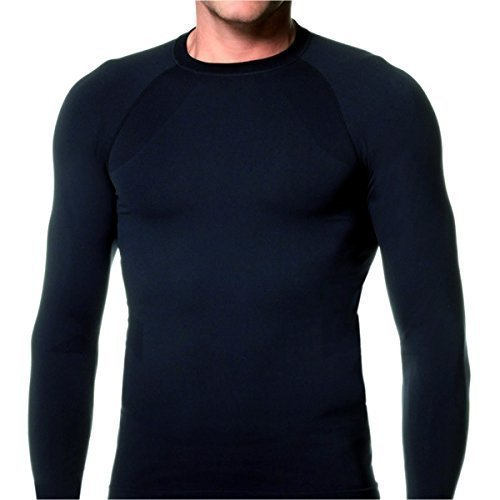 9258a085f6e Lycot Compression Top Full Sleeve Plain Athletic Fit Multi Sports Cycling
