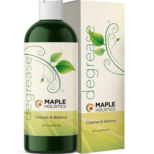 Oily Hair Shampoo for Greasy Hair - Best Clarifying Shampoo for Oily Hair and Dry Scalp Cleanser for Build Up - Deep Cleansing Shampoo for Oily Scalp Toner with Best Essential Oils for Hair Care