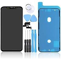 LL TRADER para iPhone X 5.8 Pulgadas Pantalla de Repuesto Pantalla táctil digitalizador con Kits de Herramientas de reparación