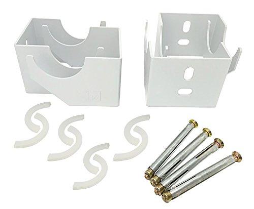 Soportes de pared para radiador: de de columna