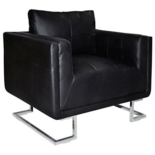 vidaXL Armsessel Armsofa Sessel Relaxsessel Ledersofa Clubsessel Lounge