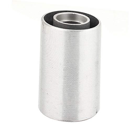 X-DREE makkita 9403 Correa Lijadora Cilindro en forma de rodillo de tensión Tono plateado(for makita 9403 Belt Sander Cylinder Shaped Tension Roller Silver Tone