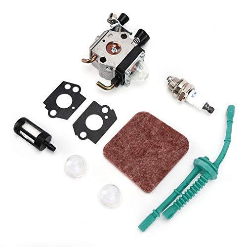Cikonielf Carburador Herramientas Eléctricas para Exteriores Kit De Reemplazo De Carburador para...