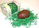Scott's Cakes 1 Pound Coconut Cream Center Filled Easter Egg Covered in Milk Chocolate