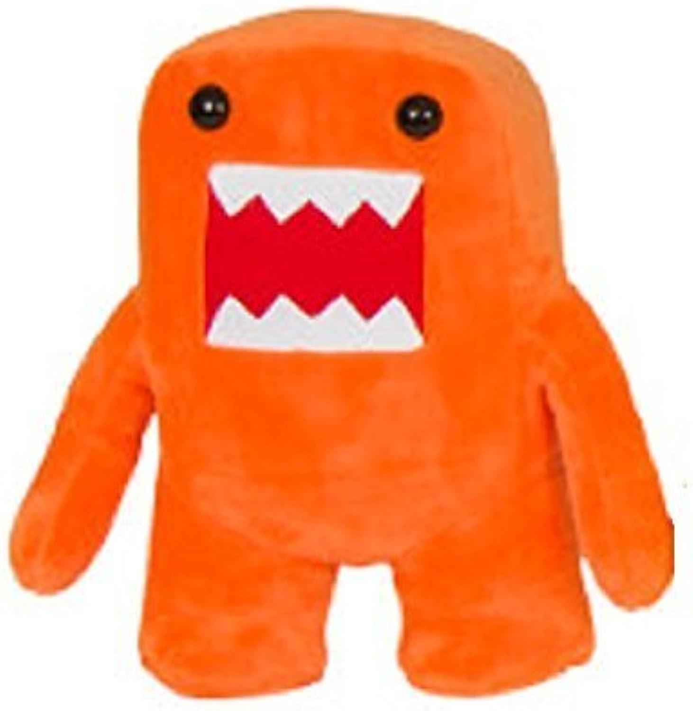 Domo Kun orange color 7 Plush Doll by Domo