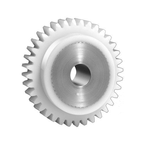 Thomafluid Stirnzahnrad aus Kunststoff (mit Edelstahlkern) - Modul 1,5-2,0, Modul: 1,5, Zähne: 36, Zahnbreite (b): 17 mm