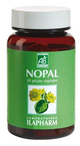 Laboratoires Ilapharm - NOPAL BIO - Absorption des graisses et des sucres - Flacon de 60 gélules