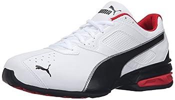 PUMA Men s Tazon 6 FM Puma White/ Puma Black/ Puma Silver Running Shoe - 12 D M  US