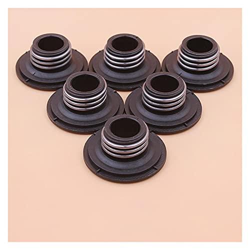 Rendimiento estable 6pcs / lote bomba de aceite engranaje del gusano para H-usqvarna 135 135e 140 140e motosierra Durable