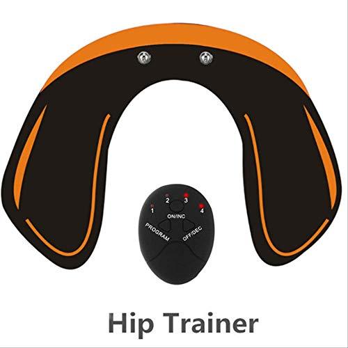 RTGFS Smart EMS Muskelstimulator ABS Bauchmuskeltrainer Toner Body Fitness Hüfttrainer Shaping Patch Sliming Trainer UnisexHipTrainer