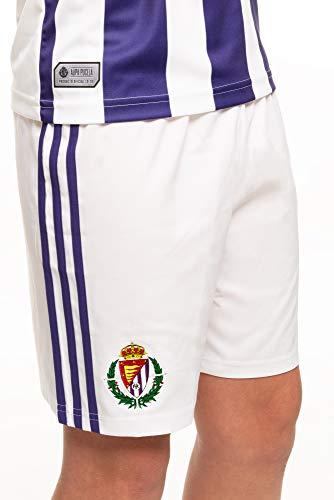 Pantalón oficial 1ª equipación del Real Valladolid C.F. Temporada 2019/20, Talla S