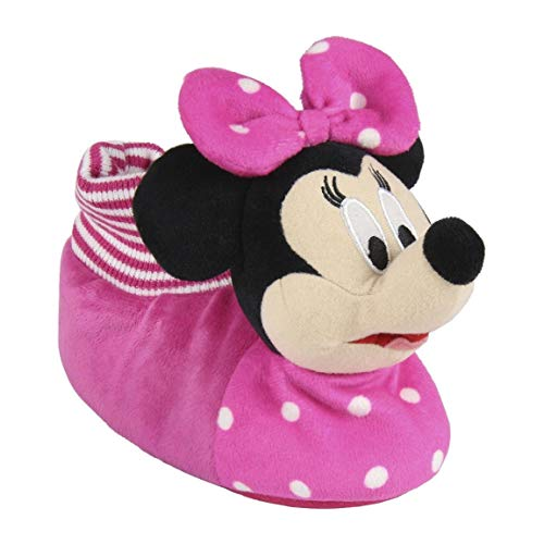 Cerdá 3D Minnie, Zapatillas de Estar por casa para Niñas, Rosa (Rosa C07), 27/28 EU